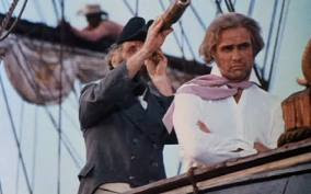 The Captain Briefs Sir William Walker About Queimada, Marlon Brando as William Walker