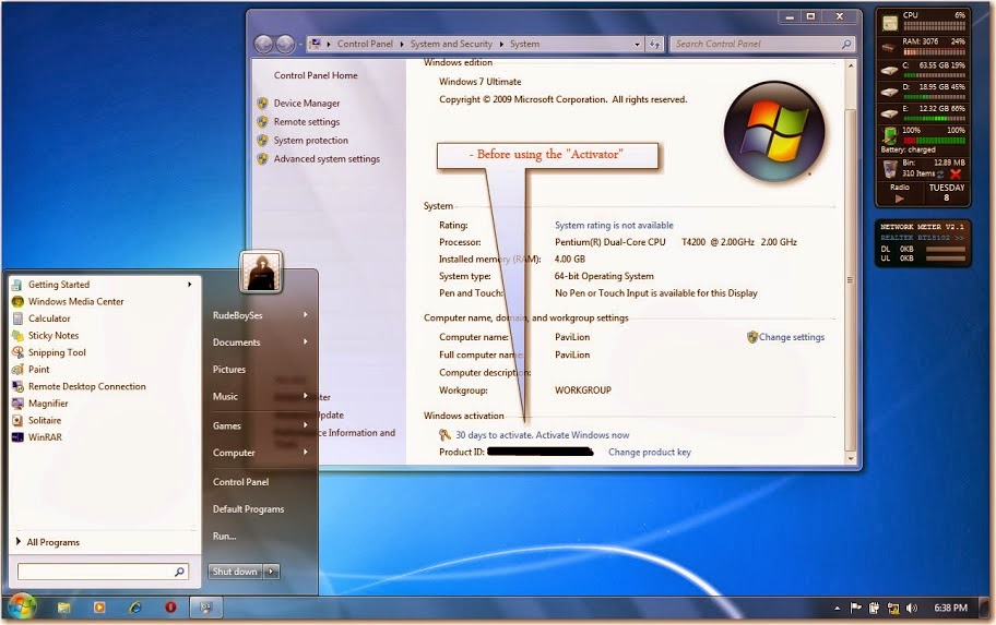 Windows 7 ultimate activator crack. Windows 7, a major release of Microsof