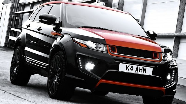 Range Rover RS250 Evoque Vesuvius Edition by Kahn Design gassguzzler