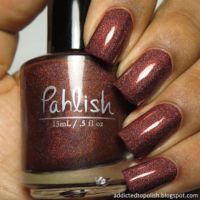 pahlish dissolving like the setting sun