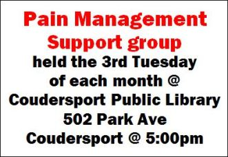 9-19 Pain Management Support Group