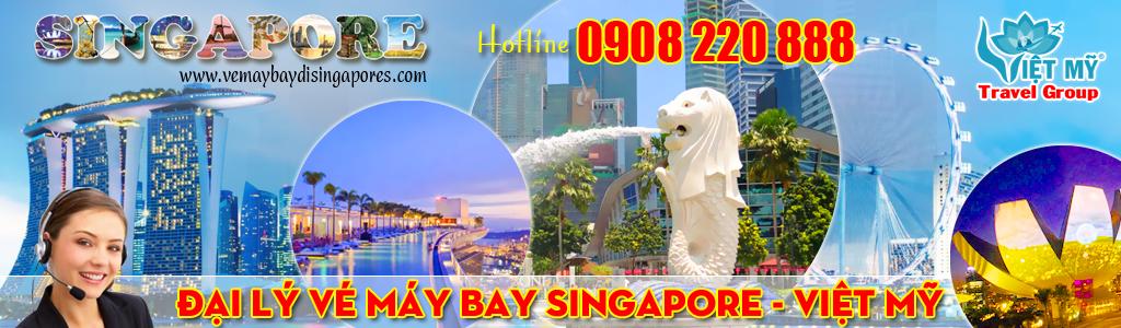 Vé máy bay đi Singapore giá rẻ - Việt Mỹ Travel Group
