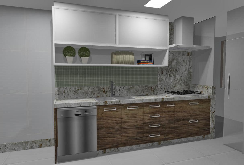Ideias da Bê!: #COZINHA : uma cozinha com estilo Apto Mata da Praia #5B4C3B 1214 818