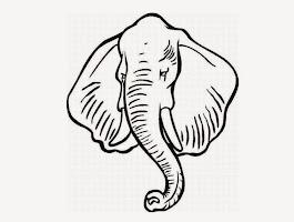Free Elephant Coloring Sheets