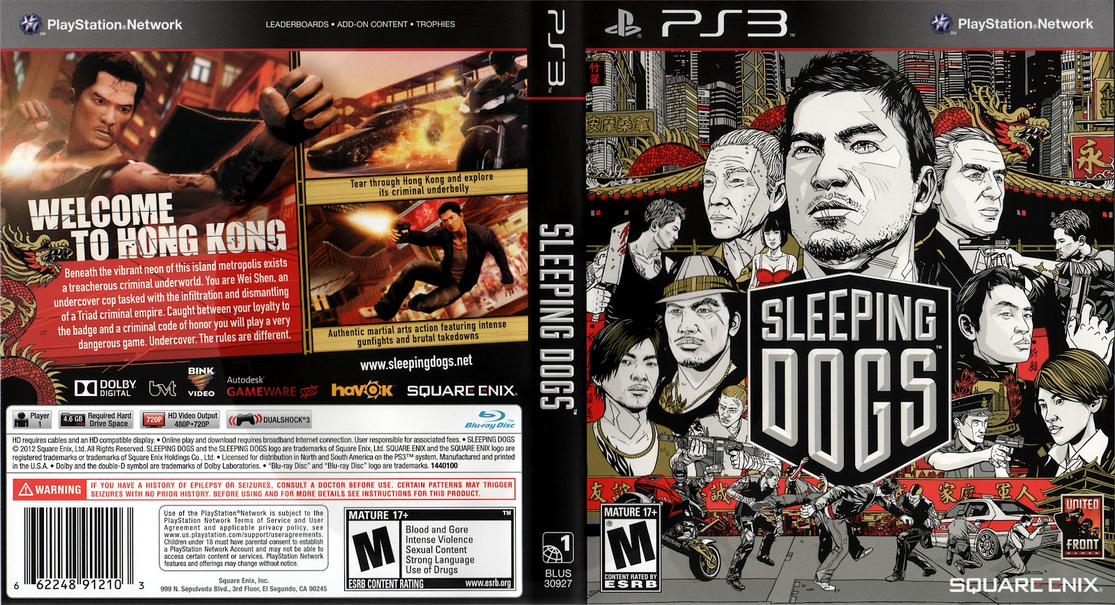 MAGIA DOS GAMES: DOWNLOAD SLEEPING DOGS PS3 !!!!!