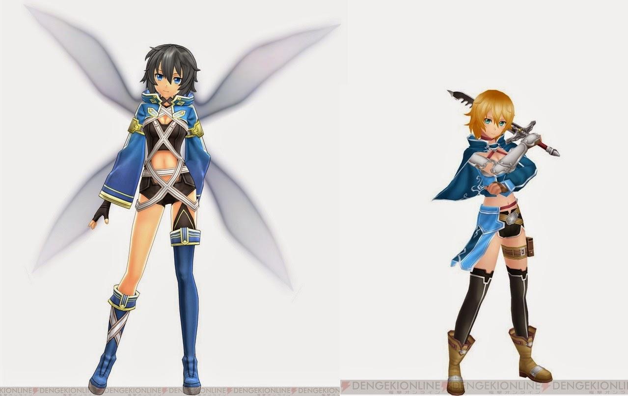 [ Info-Anime ] Karaker Sword Art Online Hollow Fragment, Philia Bergabung Dalam Game SAO Lost Song