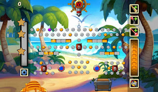 Screenshots of the Treasure bounce for Android tablet, phone.