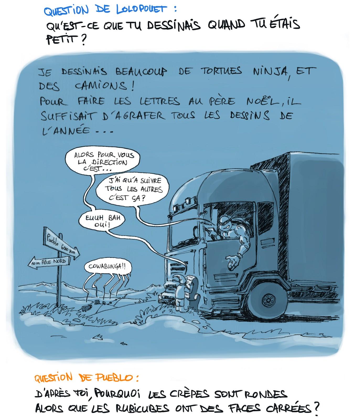 Pueblo camion