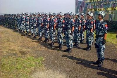 Sharp Knife Airborne 2013. PROKIMAL ONLINE Kotabumi Lampung Utara