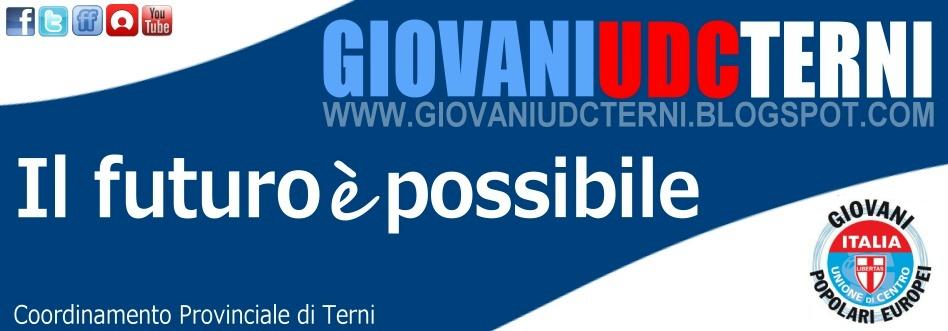 Giovani UDC della Provincia di Terni Umbria - Movimento giovanile Unione di Centro
