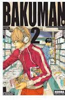 Bakuman 2,Tsugumi Ōba, Takeshi Obata,Norma Editorial  tienda de comics en México distrito federal, venta de comics en México df