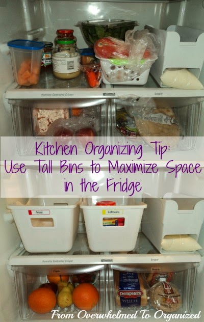 For tips on decluttering your refrigerator check out this post from the 31 Days of Easy Decluttering series. & 3 Tips for Organizing Your Refrigerator | From Overwhelmed to ...