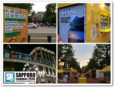 Sapporo Japan - Summer is a season you find lots of festivals around Japan