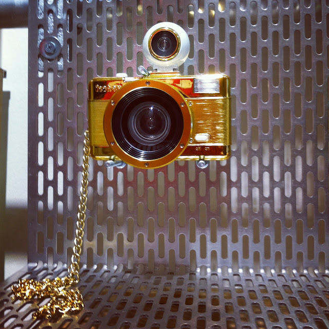 LOMOGRAPHY , Fisheye no.2 Gold edition