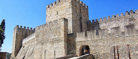 El Castillo de San Jorge en Lisboa