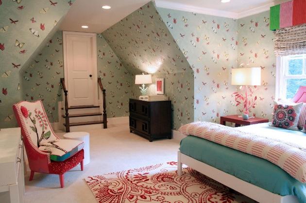 gambar wow desain unik untuk kamar tidur cewek