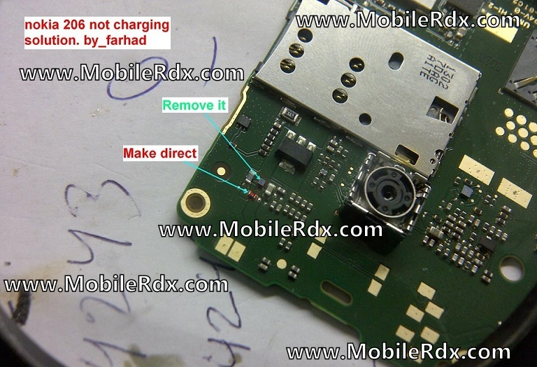 Nokia 206 Charging Problem Solution