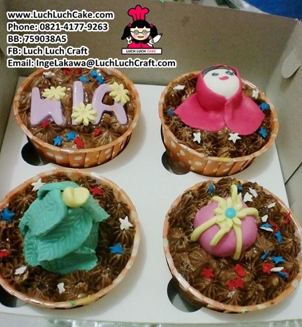 Cupcake Ulang Tahun Daerah Surabaya - Sidoarjo