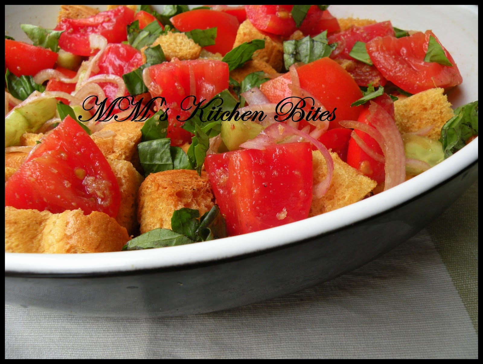 ... Bites: Panzanella / Bread Salad...the KING of salads in my books