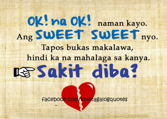 Sad Love Quotes For My Boyfriend Tagalog : Welcome To HEARTBREAK UNIVERSITY! : Tagalog Love Quotes(PART2)