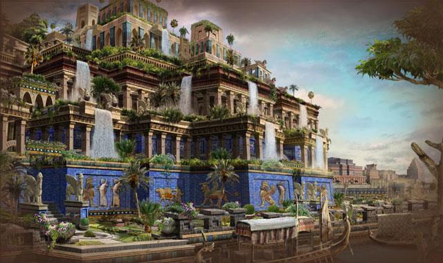 Que vuelen alto los dados los jardines colgantes de babilonia for Jardines colgantes babilonia