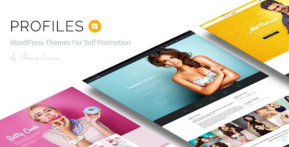 Free Download Profiles V1.0 - Responsive WordPress Theme