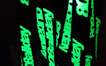 808ALLDAY GLOW IN THe DARK LANYARD
