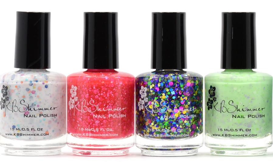 KBShimmer Spring 2014 Glitter Collection