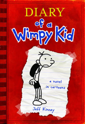cover of Diary of a Wimpy Kid by Jeff Kinney