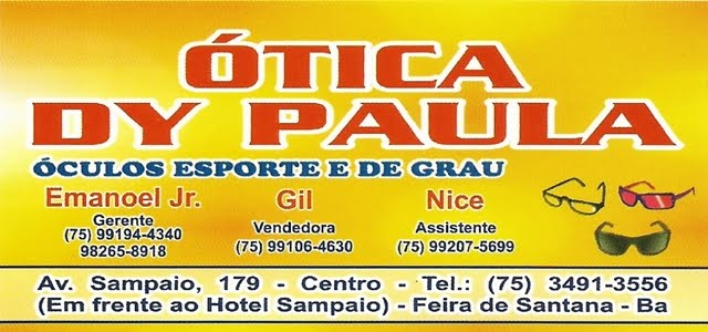 ÓTICA DY PAULA