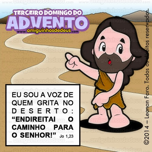 terceiro domingo do advento
