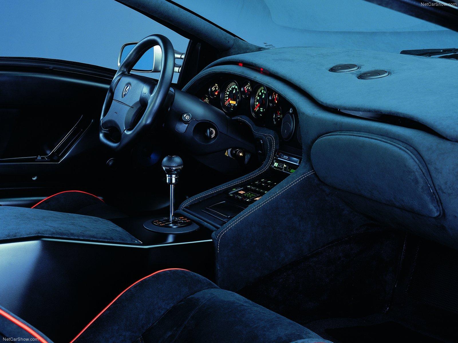 Hình ảnh siêu xe Lamborghini Diablo SV 1996 & nội ngoại thất
