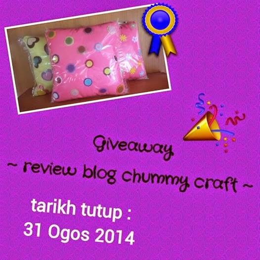 http://chummycraft.blogspot.com/2014/08/chummy-craft-giveaway.html