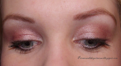 Maybelline Colour Tattoo 24 HR Gel -Cream Eyeshadow Review - 65 Pink Gold Swatch