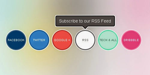 CSS Powered Buttons with Hover Tooltips