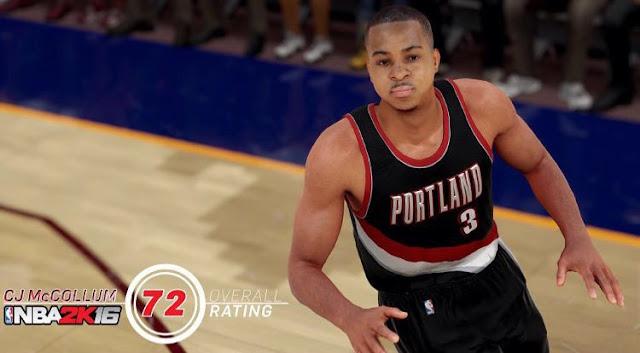 NBA2K16 CJ McCollum