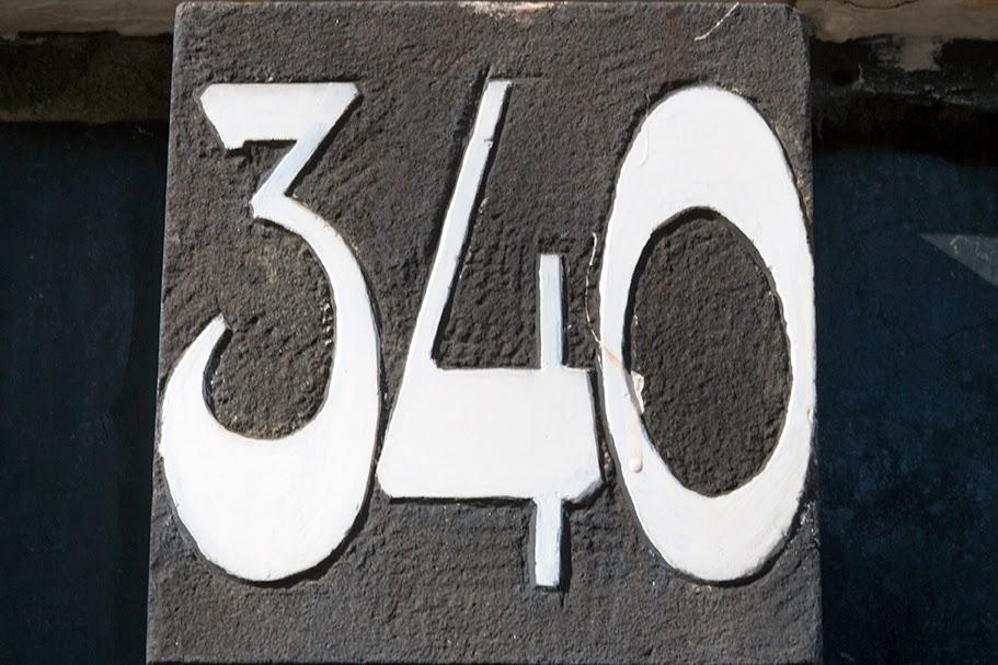 street number 340