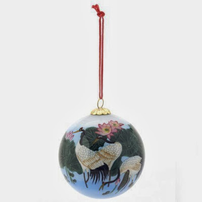 Chinese Christmas tree bauble
