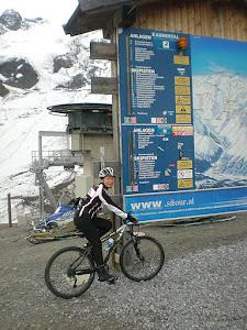 Ghiacciaio Weissseeferner a 2.750 m di altitudine nella regione di Kaunertal