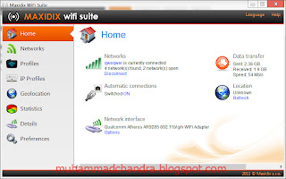 Maxidix Wifi Suite 11.11.8 Build 71 - Software Untuk Mengontrol Koneski Wi-Fi ( gratis )