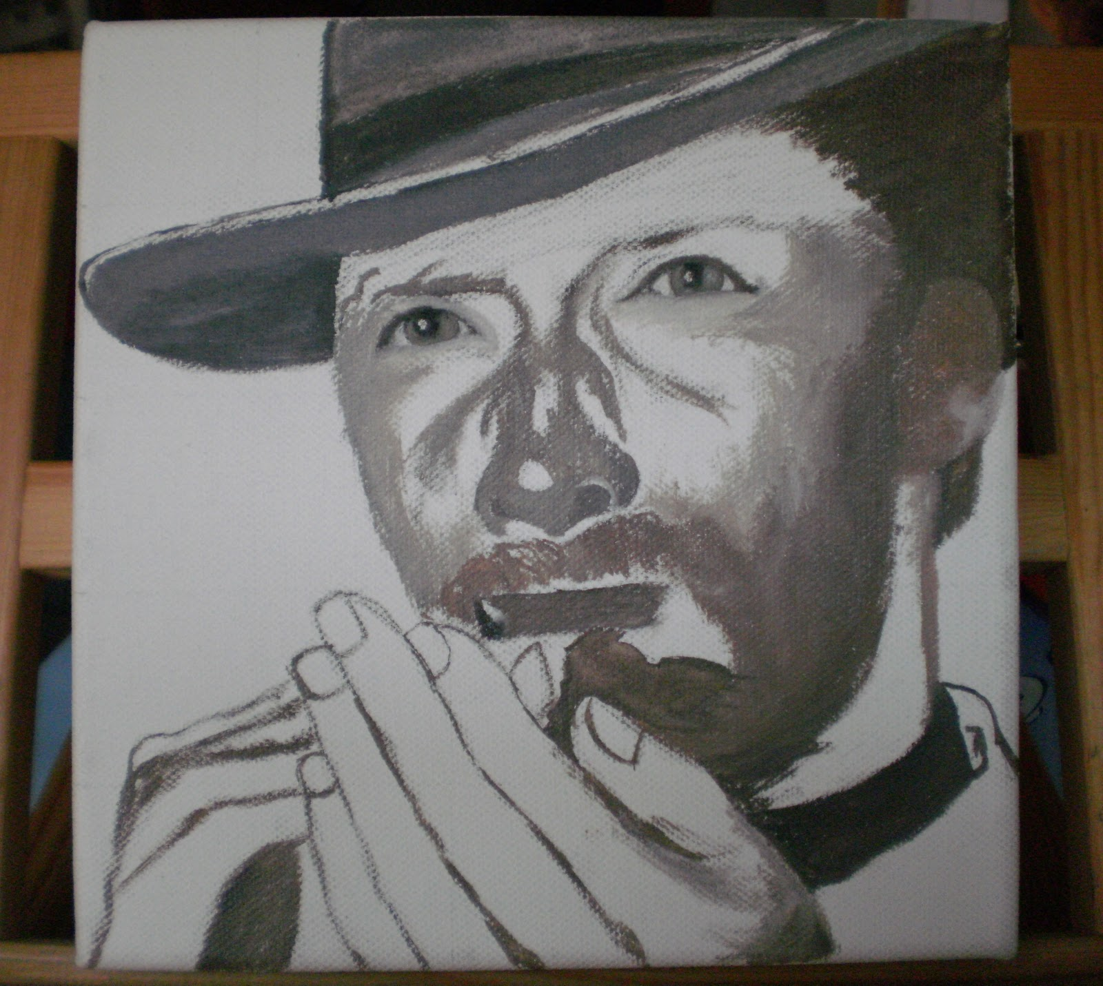 Pinturas al leo nistal lorenzo como pintar un retrato - Retrato oleo paso a paso ...