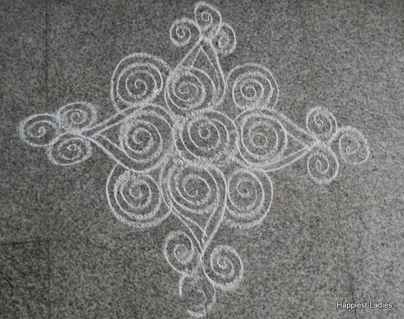 Daily Simple Rangoli Designs