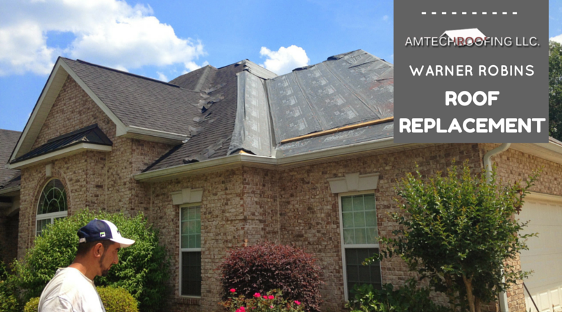Need your roof replaced in Warner Robins?