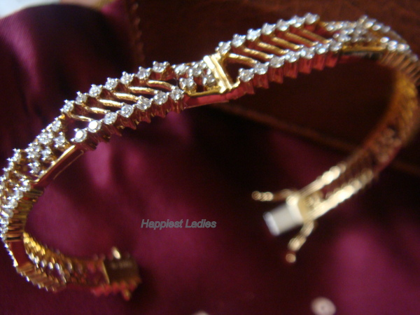 Diamond Bracelet  Bangle+designer jewelry