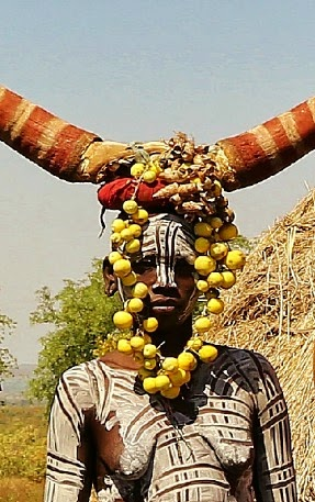 Headress of the Mursi Tribe