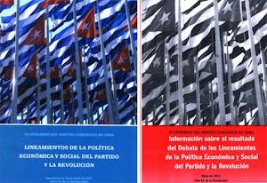 LINEAMIENTO DE LA POLITICA ECONOMICA Y SOCIAL  DEL VI CONGRESO PCC