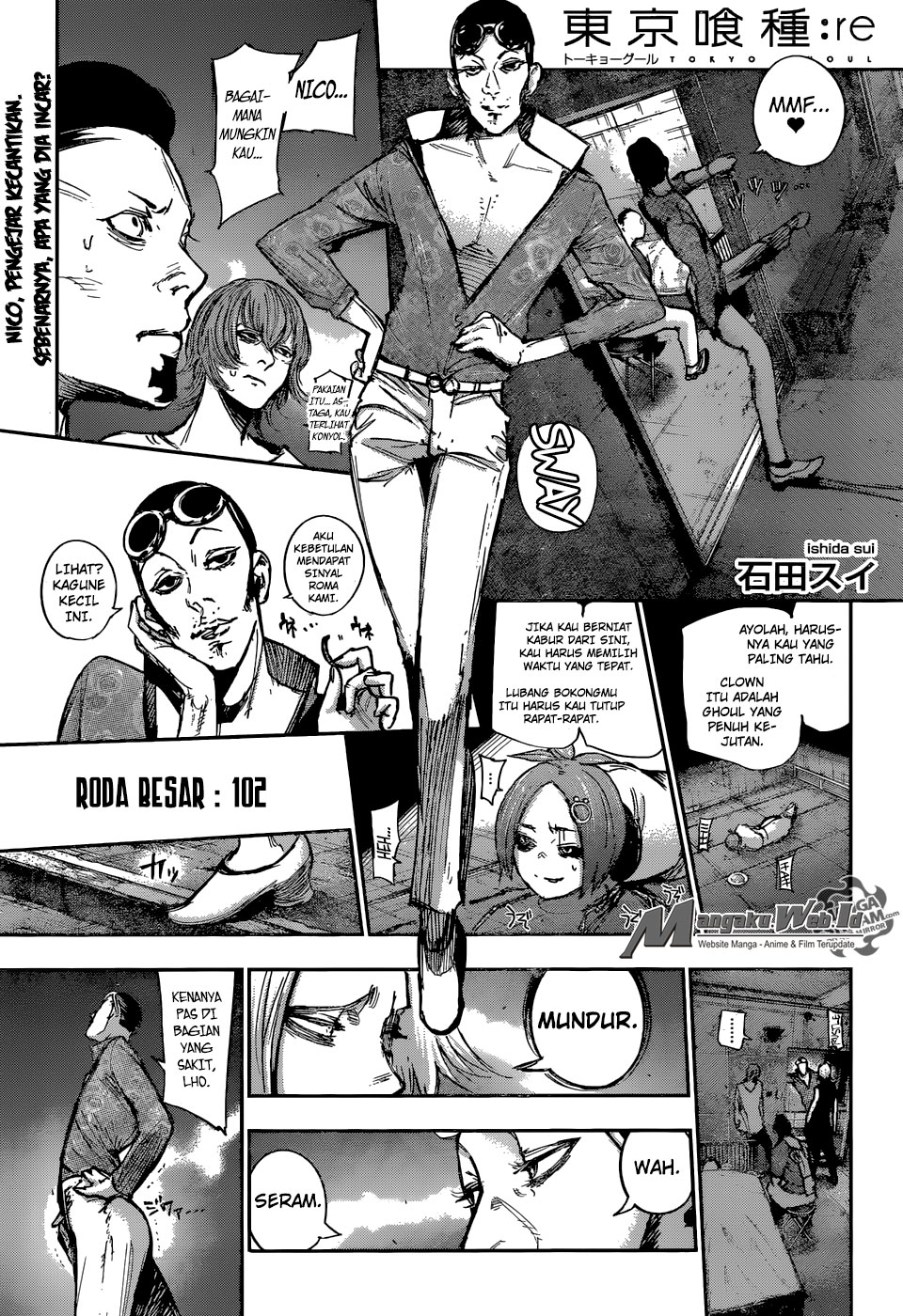 Tokyo Ghoul:re Chapter 102-1