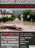 Soirée Solidarité Associations aux sinistrés des inondations (31)