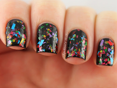 New Year's Eve Confetti Fireworks Nails - Candy Lacquer - Candy Crush