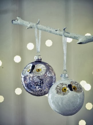 Item of the week: Owl Baubles from Cox & Cox